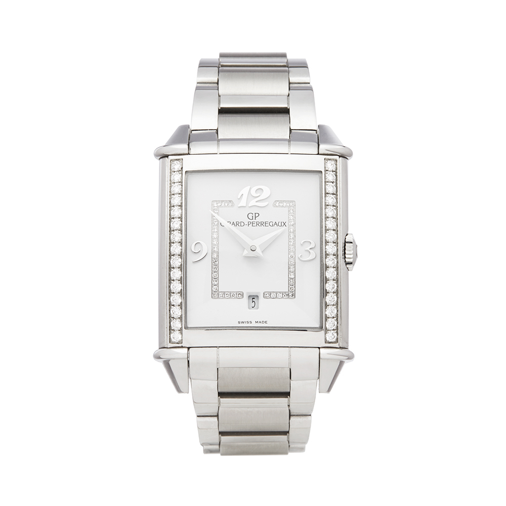 Girard Perregaux Vintage 1945 25860D11A1A111A Ladies Stainless Steel Diamond Watch - Image 8 of 8