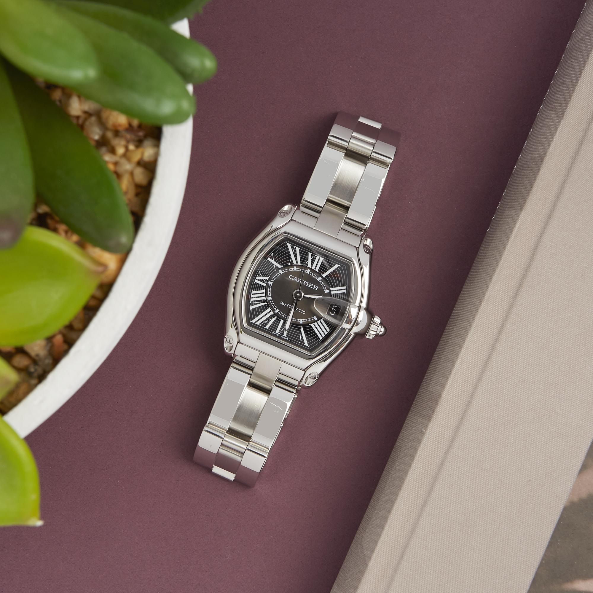 Cartier Roadster 2510 Men Stainless Steel Watch - Image 2 of 8