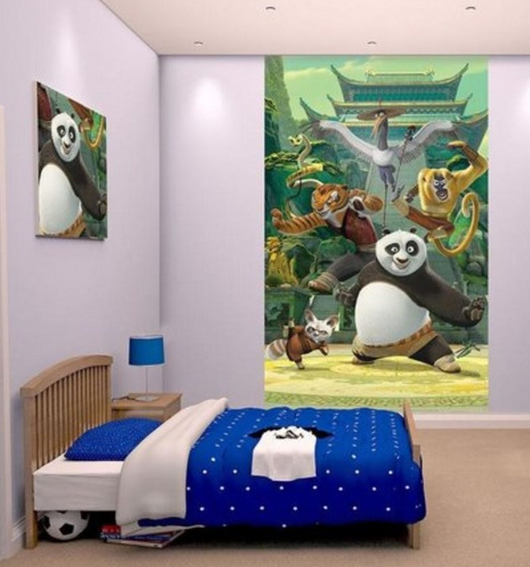 8 Mixed Large Wall Murals You Will Get A Mix Of 3 Different Designs - Image 2 of 3