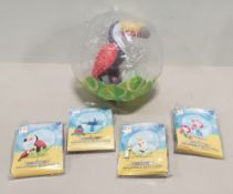 48 Kids Blow Up Beach Ball Toys Comes In 4 Different Designs, T
