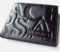 Versace Men's Leather Wallet - New With Box
