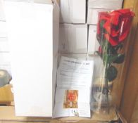 You Are Bidding On 6 Large Fully Boxed Brand New Flower Displays