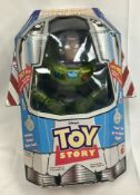 Rare Early Buzz Lightyear Power Boost Action Figure With Box