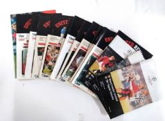 Manchester United Football Programs And Reviews