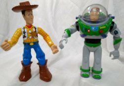 Sheriff Woody And Buzz Lightyear Figure Dolls