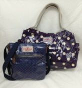 A Pair Of Cath Kidston Oil Cloth Bags