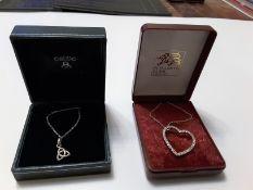 Celtic Silver Pendant From Kit Heath &Heart Pendant