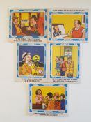 Vintage Whitbread Trophy Bitter Humorous Post Cards