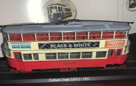 Atlas Editions - Feltham tram (UCC) 1931 – 4648102 MODEL