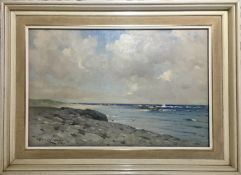 Robert Russell MacNee, Port Mhor Bay Tiree, Signed, Oil on Canvas