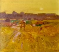 George Devlin RSW RGI (Scottish 2014) Evening, Signed Oil on Canvas Board