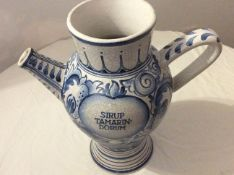Excellent Antique Delfwear blue and white wet Drug Jar