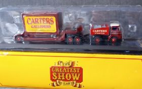 Atlas Editions Greatest Show on Earth Carters Foden Generator and Low Loader