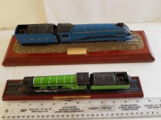 Mallard and Flying Scotsman Model Trains