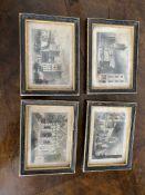 Edwardian set of miniature pictures