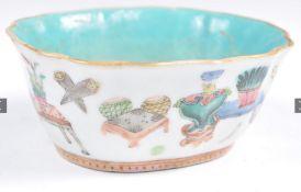C18th Chinese Qianlong period bowl