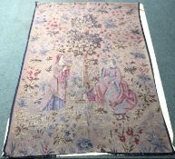 Large C17th style embroidery