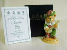 Halcyon Days 2001 Teddy of the Year Porcelain Figure (Boxed)