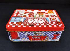 1980's Vintage Oxo Cube Tin