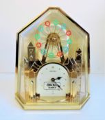 Rare Seiko Revolving Ferris Wheel Mantle Clock