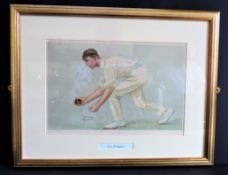 Original Antique VANITY FAIR Spy Lithograph - Digby Jephson 'The Lobster'