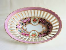 Antique Sevres Style French Porcelain Bowl