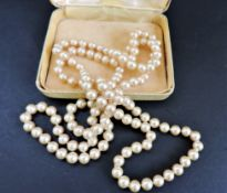 Vintage 40 inch Ciro Pearl Necklace