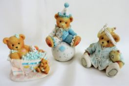 Set of 3 Cherished Teddies