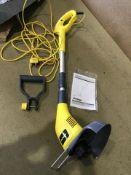 challenge 25cm corded grass trimmer - 350w