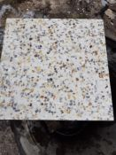1 x pallet of brand new (t14937) terrazzo tiles (24 square yards coverage)