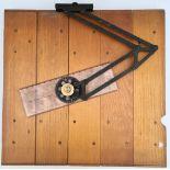 WWII Military RAF Wooden Plotting Board