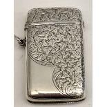 Antiques Sterling Silver Vesta