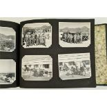 Vintage Photo Album Includes military Pictures National Service Post WWII