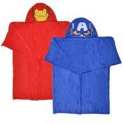 20Pcs - Marvel / Captain America Kids Cuddle Blanket Rrp £12.99 - 20Pcs In Lot