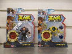50Pcs Assorted Zak Strom Design Figures - Rrp £9.99 Each - 50Pcs In Lot