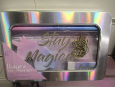 24Pcs - Brand New Paladone Unicorn Stationary Set - Rrp £7.99 - 24Pcs In Lot