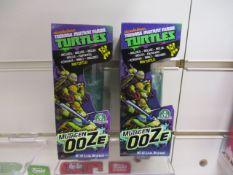 20Pcs X Brand New Teenage Turtles Ooze Slime - 20Pcs In Lot £3.99.Each -