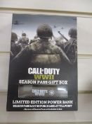 20Pcs Brand New Call Of Duty Power Bank - With Usb Cable , Power Bank Only No Sea