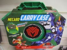 20Pcs Mecard Toy Set As Pictured Carry Case For Car Truck Toy Storage - Rrp £9.99