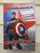 1000Pcs Brand New Captain America Book With Photo Section - New And Sealed - Rrp