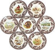 Portmeirion Collections 20cm Woodland Plates x 20