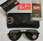 Ray Ban Sunglasses (Ferrari) ORB4320CH 622/71 *3P