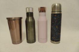 4 Ted Baker Items, Drinks Bottles & Flask