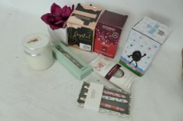 Bundle of Candles, Pens, floral arrangements and other (R2)