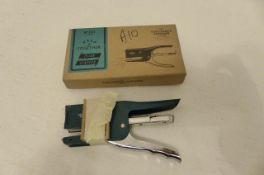 2 Gentlemen's Hardware Staplers (A10)