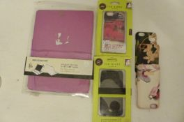 Ted Baker iPhone cases & Moleskin Tablet Case (A4)