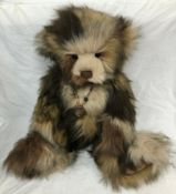 Adorable Charlie Bears 'Tracy' Retired Soft Plush Jointed Teddy/Panda Bear.
