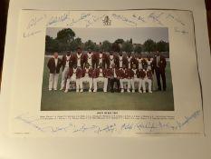 1991 West Indies Cricket Team Photo
