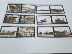 Full Set Of Large Size Rockwell Titanic Trade Cards