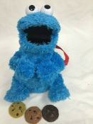 Sesame Street Cookie Monster Plush Talking Toy